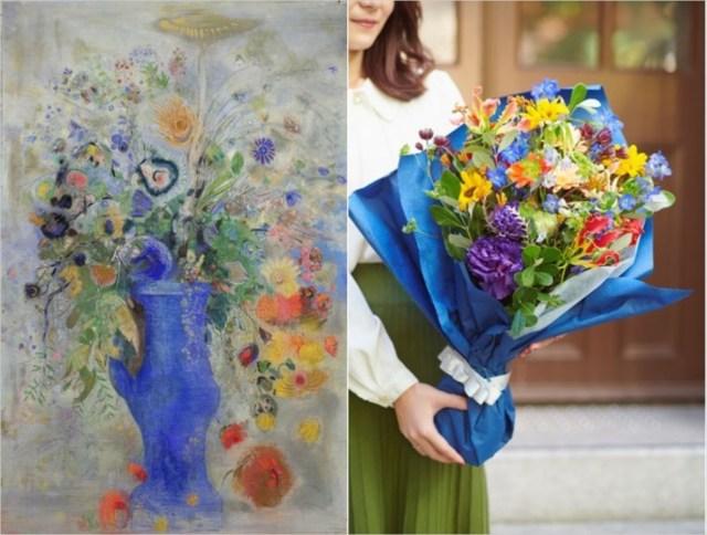 フラワーロスを救う「名画の花束」を! ロートレックやルドンをイメージした「花束つきの展覧会チケット」を三菱一号館美術館が販売中です