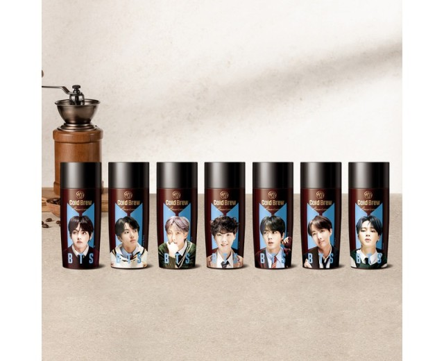 【売切続出】BTSのメンバーがデザインされたコーヒーが発売されて話題に…! SNSでは「ローソン何軒もまわってコンプした」などの声も
