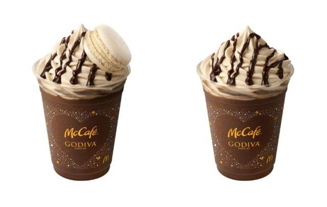 【本日発売】「マックカフェ×ゴディバ」コラボフラッペがめちゃくちゃ美味しそう~! 見た目がゴディバすぎてテンション上がります