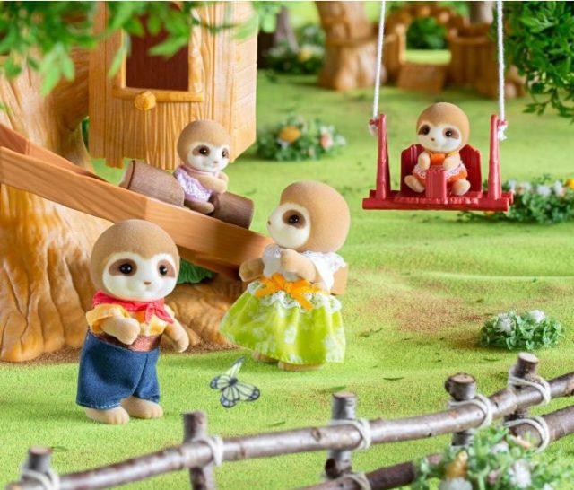 知ってた?シルバニアファミリーの珍しい動物ファミリー5選♡ ナマケモノにもぐらもパンダに…どれもとってもキュートです