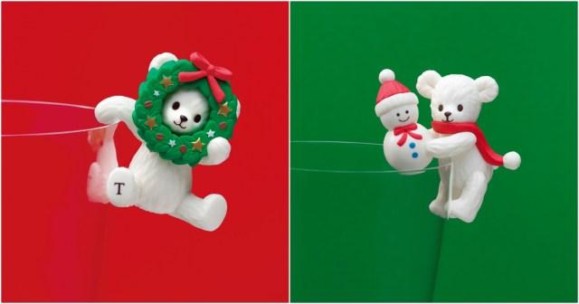 【今日から】タリーズにクリスマスモチーフのふちベアフルが数量限定で登場! かわいすぎて今回も即完売の予感です…!!