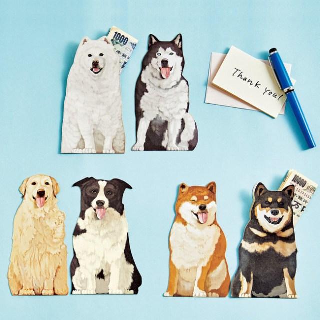 【お正月の必需品】犬が「ヘッヘッヘ」と舌を出すポチ袋がフェリシモに登場! 喜びが隠しきれない表情がかわいい~♡