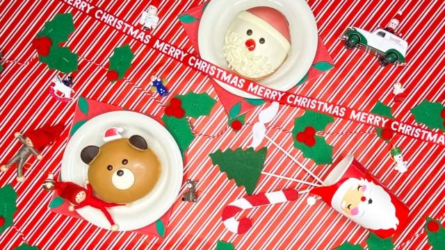 クリスマスのテーブルコーデを「クリスピー・クリーム・ドーナツ×フライング タイガー コペンハーゲン」が紹介♪ プチプラでお家クリスマスを楽しもう