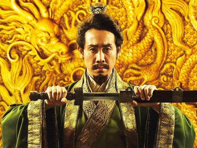 福田雄一監督の『新解釈・三國志』はスター俳優たちがお笑いに真面目に挑むコメディ映画! ぼやき続ける英雄・劉備を演じる大泉洋がツボ!