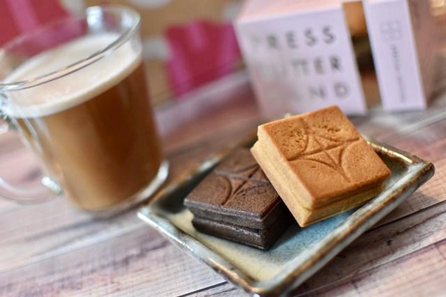 BAKEのバレンタイン限定セットはチョコ好きにはたまらない!「プレスバターサンド」の限定チョコ味や産地にこだわったガトーショコラが楽しめるよ