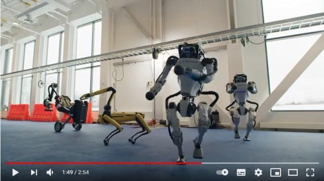 「中の人などいない…!!」2500万再生を記録したロボットたちのなめらか&キレッキレすぎるダンスをご覧あれ