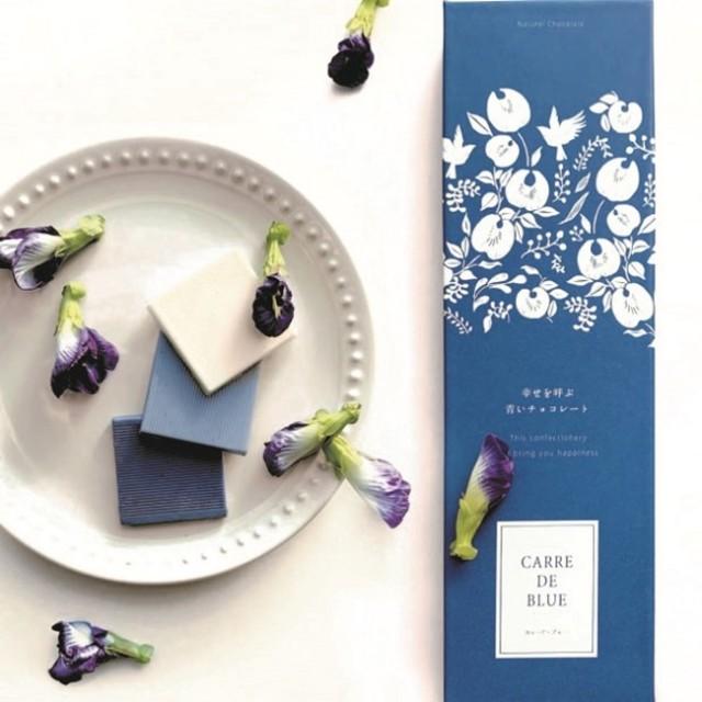 幸せを呼ぶ青いチョコレートがロマンチック…! 「青いラング・ド・シャ」や「青いラテ」も新登場