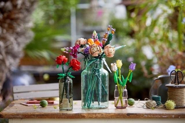 【売り切れ続出】お花かと思いきや…よく見るとレゴ!レゴパーツで花束や盆栽を作れるアイテムが素敵すぎるよ~!