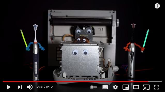 こんな「ダース・ベイダーのテーマ」見たことない! トースターやタイプライターたちが可愛く電子音を奏でるよ