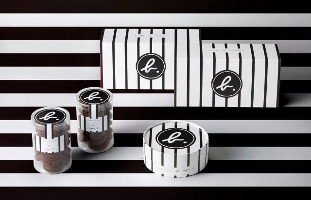 ピエール・エルメとアニエスベーのコラボスイーツが素敵! モノトーンのシックなパッケージは一目惚れ必至です