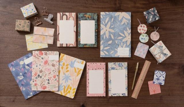 自分だけの好きが詰まったノートを作ろう♪ かわいい紙モノアイテムがそろうフランスの文具ブランドが日本に上陸したよ