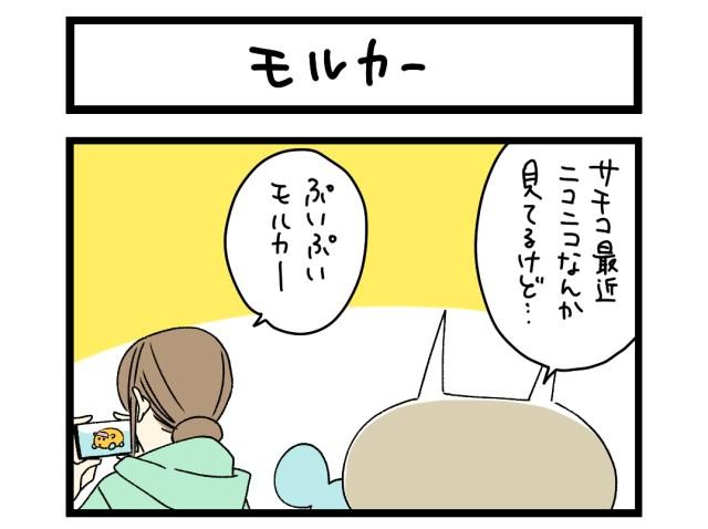 【夜の4コマ部屋】モルカー / サチコと神ねこ様 第1491回 / wako先生