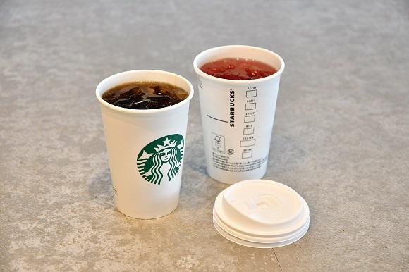 【今日から】スタバのアイスコーヒー&アイスティーがペーパーカップに! ストロー不要のフタでより環境に配慮した形へ