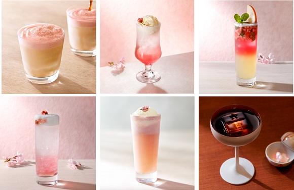 桜の名所・中目黒にあるスタバリザーブの限定メニューが美しい… 桜のクリームソーダやカクテルにうっとり