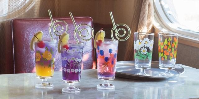 昭和ノスタルジックで素敵なアデリアレトロのグラス♪ 可愛い上にお値段もリーズナブルで一気にそろえたくなります