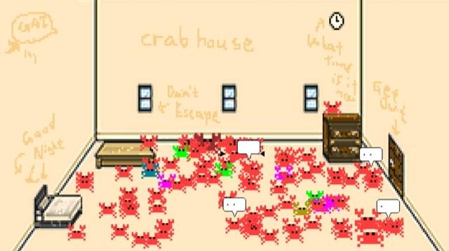 Clubhouseならぬ「Crabhouse(カニのおうち)」アプリが爆誕したので遊んでみた! コミュニケーション不要&招待不要なので超気楽