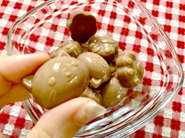 【材料3つ】森永公式レシピ「ぷにぷにチョコ」は不思議な食感の新感覚チョコ! レンチンで簡単&仕上がりも楽しいよぉぉ♪