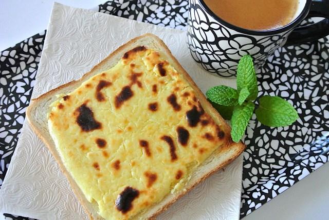 食パンで「バスクチーズケーキ」が作れる? 山崎パン公式の「ロイヤルバスクチーズケーキ風トースト」を作ってみた