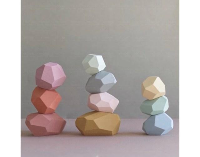 これがおもちゃの「積み木」なの!?  インテリア雑貨のようなオシャレな石の積み木にひとめ惚れ♡