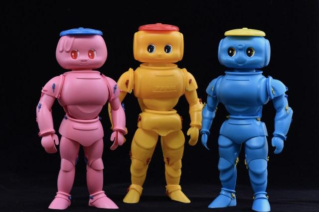 フエキどうぶつのりの体はムッキムキだった…!? 容器のパーツを使って作り上げる超合金ロボのようなフィギュアが強烈インパクト
