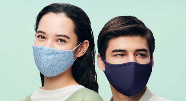 GUの「不織布フィルターつきマスク」は高機能でおしゃれ! レース模様や流行のアースカラーなどデザインも素敵です