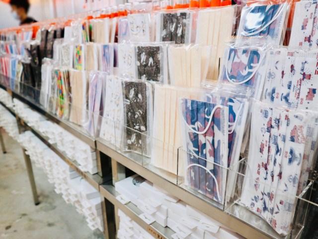 【現地レポ】台湾で「柄つきの不織布マスク専門店」が流行中♡ カラフルでかわいいマスクがいっぱいで目移り必至でした!