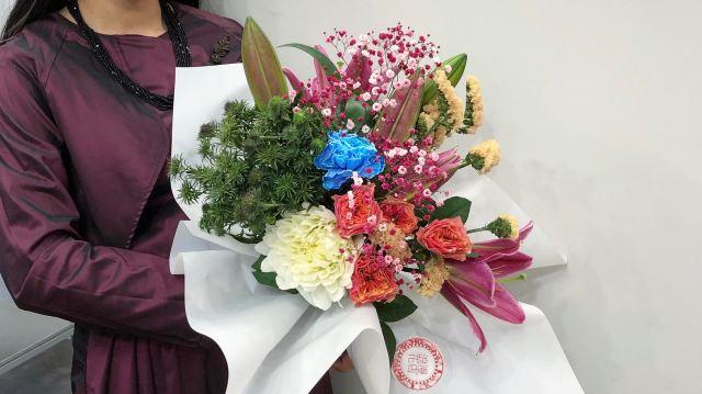 オリエンタルな花屋さん「浪漫花店」のオンラインで買えるブーケが素敵! アジアンなフラワーベースもあってギフトに◎