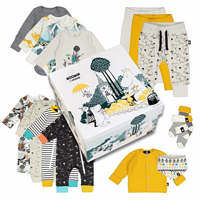 フィンランドで配られる新生児向けの「ベビーボックス」が超豪華…! ムーミンデザインが日本でも買えるよ