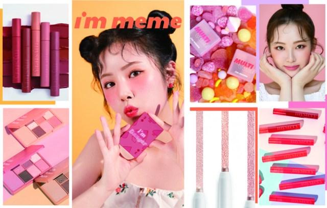 韓国プチプラコスメ「I'M MEME」が日本上陸! カードサイズの10色入りパレットなどミニサイズコスメがそろってるよ