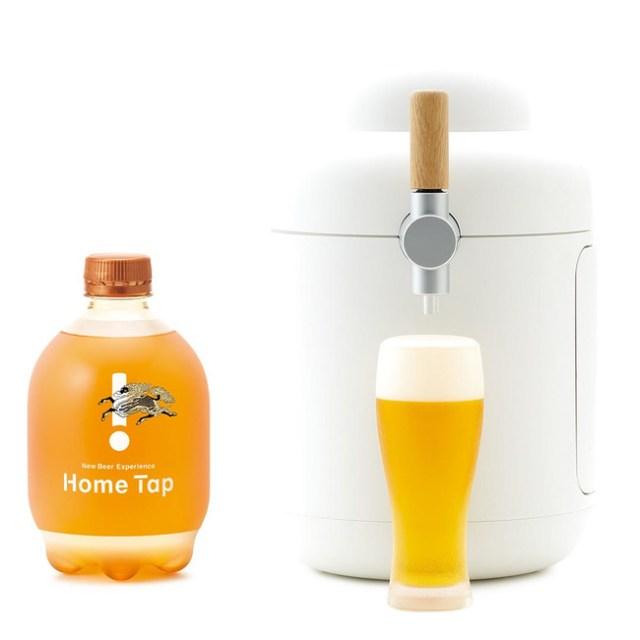 自宅で本格的な生ビールを楽しめる「キリンホームタップ」の申し込みがスタート!サーバーもオシャレで家飲みが充実する予感