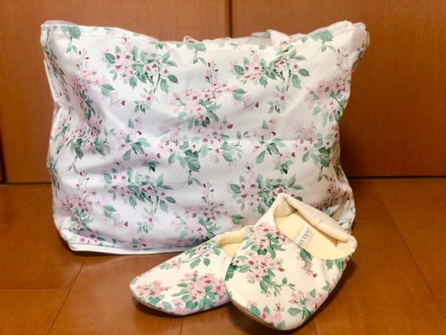 【本音レビュー】「GLOW」5月号の付録はローラアシュレイの大容量エコバッグとふわふわルームシューズ! ロマンティックな花柄がお部屋に春を運ぶよ