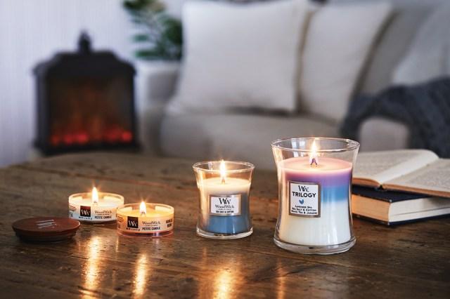 パチパチと焚き火のような音が鳴るキャンドルが癒やしの極み…心地よい音と香りでリラックス気分を味わえます