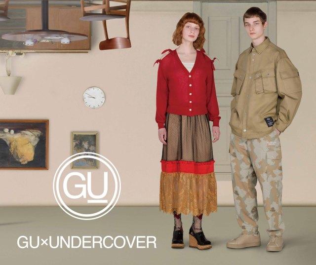 GUの「アンダーカバー」コラボがクールで個性的!ディズニーキャラがデザインされたアイテムも…