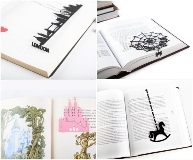 「本のしおり」がこんなに遊びゴコロに満ちてるだなんて…! 蜘蛛の巣や踊る人などアートなしおりはいかが?