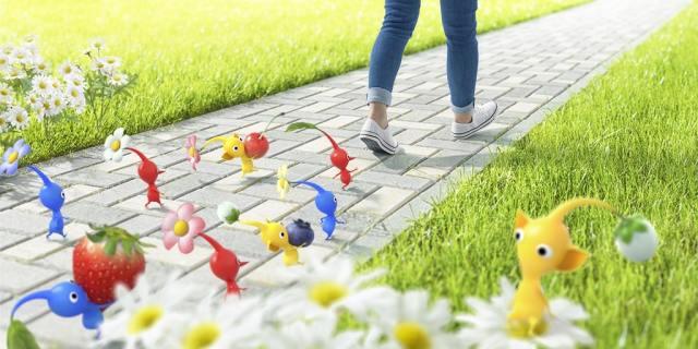 ピクミンと一緒に楽しく歩けるアプリが誕生!? ちなみに『ピクミンGO』ではないそうです