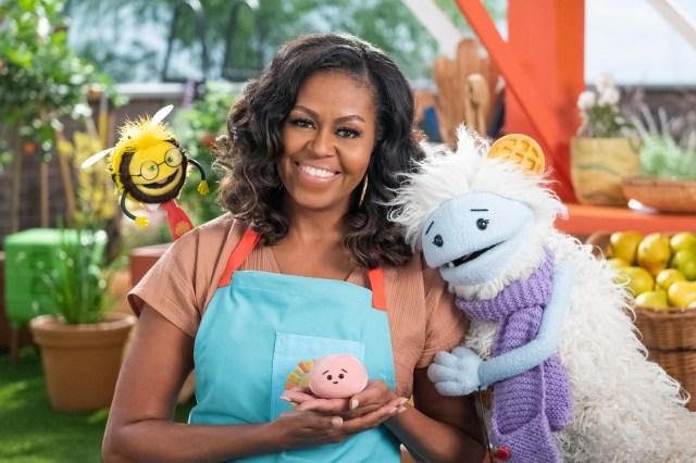 オバマ元大統領夫人のNetflix料理番組『ワッフルとモチ』がかわいくて面白いと話題に! 『クィア・アイ』のタンや歌手のSIAなど豪華ゲストがいっぱい