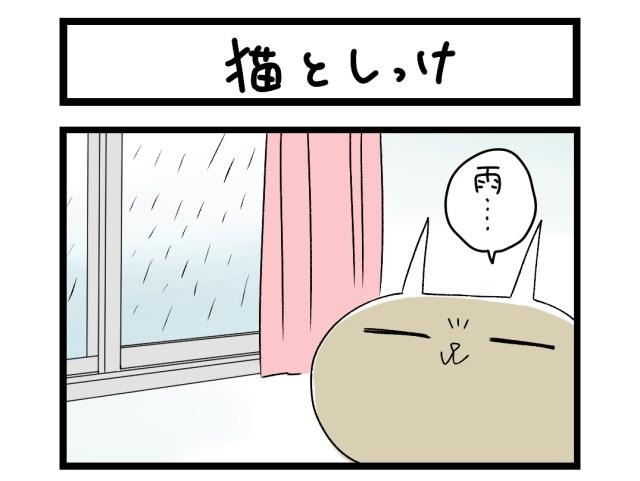 【夜の4コマ部屋】猫としっけ / サチコと神ねこ様 第1522回 / wako先生