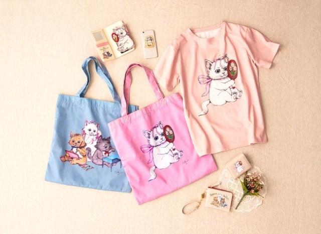 子猫のマリーちゃんがヒグチユウコ仕様に変身…‼︎ 『おしゃれキャット』の新コレクションがディズニーストアに登場したよ