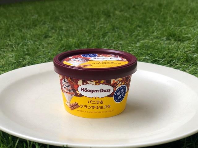 ハーゲンダッツ新作「バニラ&クランチショコラ」は王道パフェのよう! おこもりタイムにストックしたい懐かしくも上質な味わいです