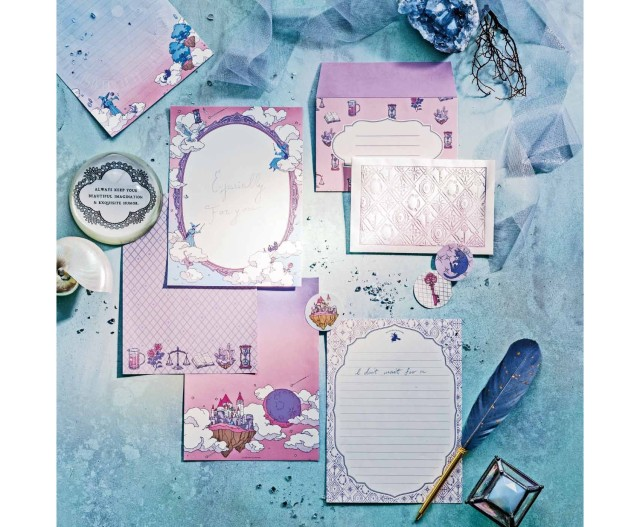 フェリシモ「魔法部」のレターセットが昔なつかしの可愛さ! 魔法部らしい素敵な仕掛けにも心ときめきます