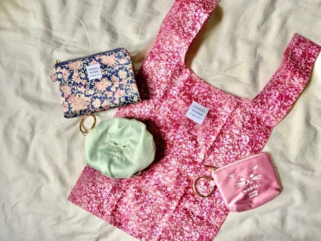 「sweet」6月号付録はスナイデルの可愛さを集めたエコバッグ&ねこ刺繍ポーチ / 実用性もバッチリです