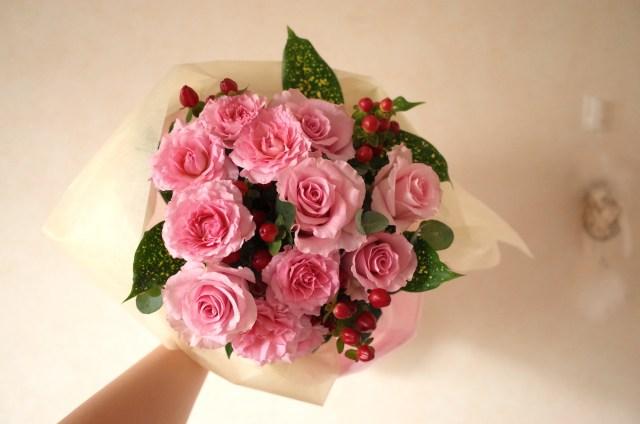 誕生日、自分で自分に花束を贈ってみた! 意外とサプライズ感があってイイゾという話