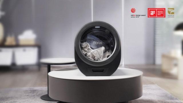 持ち運べる乾燥機「Morus Zero」が激しく便利そう! 速15分で洗濯物が乾きます