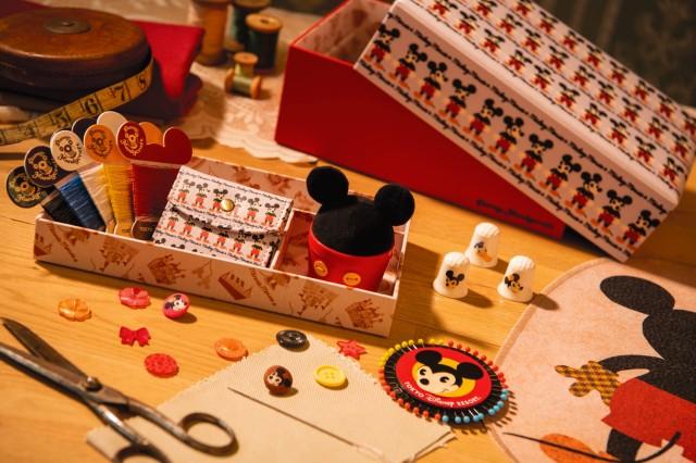 東京ディズニーリゾートから「ハンドメイドグッズ」が登場 / ワッペンやクロスやセット売りが揃っているよ