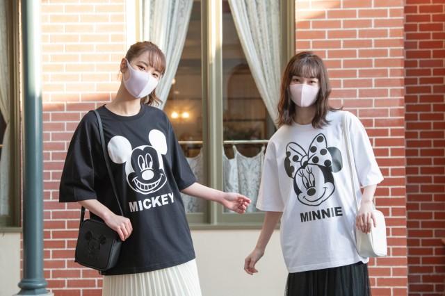 東京ディズニーリゾートから「ZUCCa」のグッズが登場♪ モノクロのシンプルファッションアイテムが揃いました