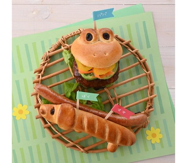 犬のホットドッグやかえるさんバーガーが簡単に作れる♪ 子どもたちも大喜びしそうな「アンデルセン」の通販セット