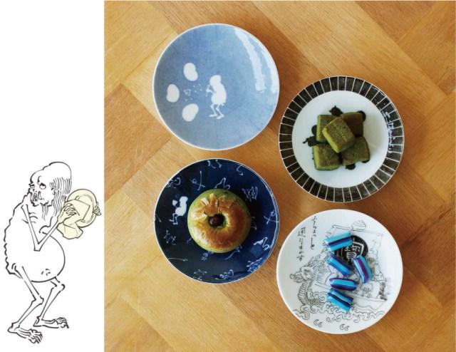 ガッキーこと「丁寧な暮らしをする餓鬼」の豆皿が味わい深い雰囲気! 毎日使いたくなるデザインだよ〜