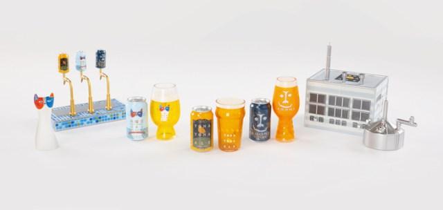「よなよなエール」のカプセルトイがすごい…! ビール缶はもちろんビールサーバーや醸造所もフィギュア化しているよ