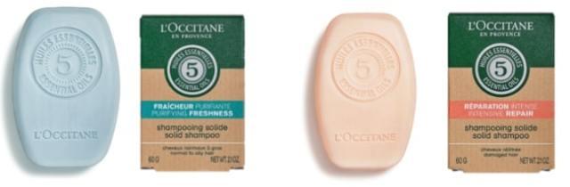 ロクシタンから固形シャンプー「シャンプーバー」が発売に!  すっきりタイプしっとりタイプの2種類です