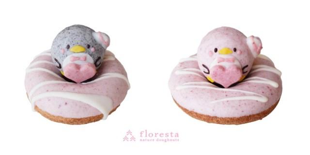 フロレスタ×サンリオの「タキシードサムのドーナツ」が可愛すぎる! パステルカラーで世界観を見事に再現しているよ